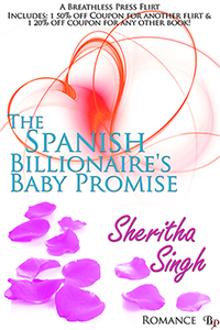 The Spanish Billionaire's Baby Promise 200x300
